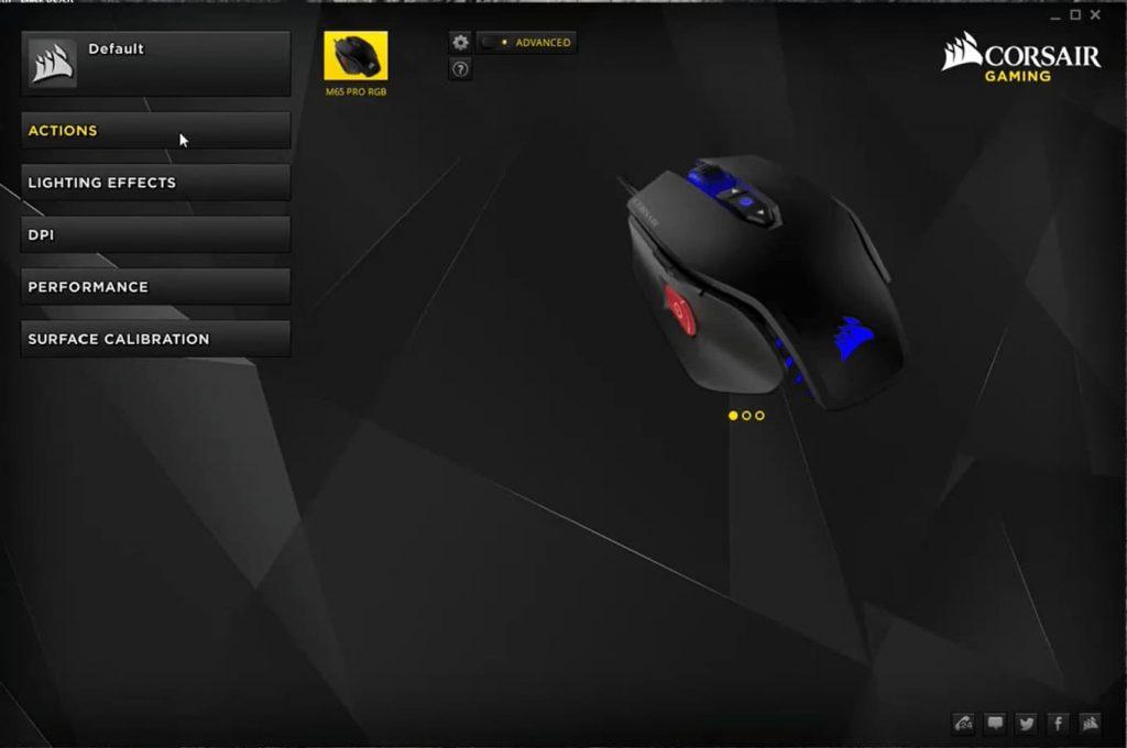 Corsiar mouse software