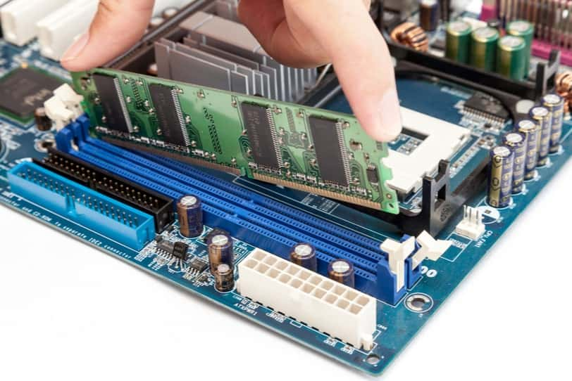 Motherboard RAM and PCI-E Slots