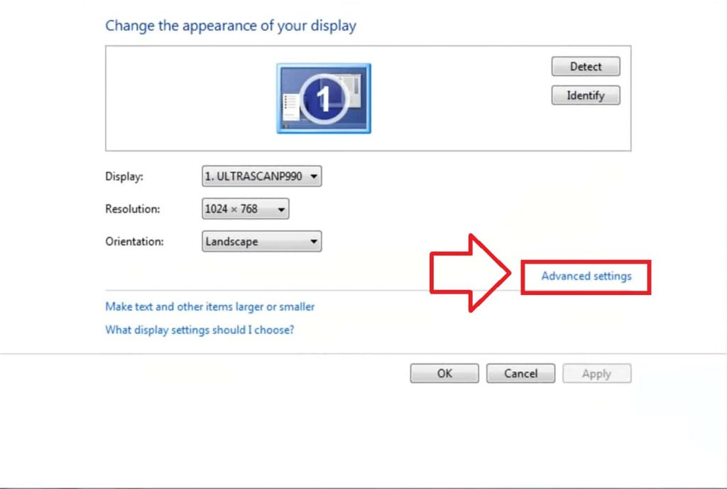 step 2 of How to Change Monitor Refresh Rate in Windows 7