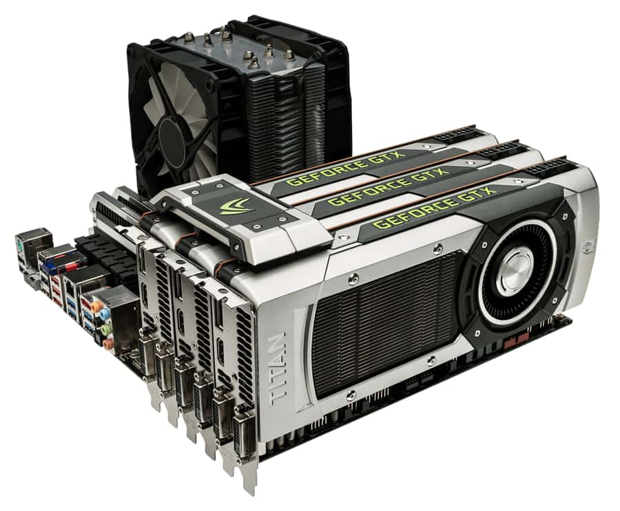 Nvidia SLI image